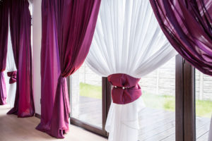 Drycleaning drapes and linens is essential for a clean home